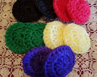 Pot Scrubbers set of 10, scrubbies, kitchen, cleaning supplies,