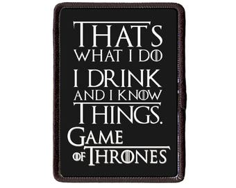 Game of Thrones  Sew On patch