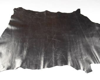 Silver goat leather skin (17111313)