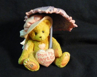 Cherished Teddies Victoria From My Heart To Yours 1993 916293 Boxed.