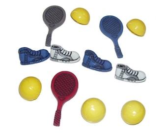 Tennis Theme Buttons