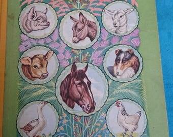 Peters farmyard friends vintage book