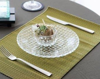 Igusa, rush grass placemat, dinning ware, artisanmade, made in Japan