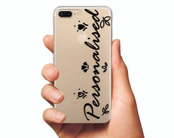 Personalized Case Custom Name case iPhone X 8 case private cases iPhone 6 case iPhone 7 case Personalized iphone case Custom iphone case