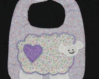 Sheep Baby Bib