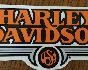 Harley Davidson Vintage Sticker