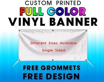 Custom Vinyl Banner Etsy - Custom vinyl banners