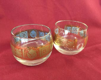 Culver Glass small shot glasses 2
