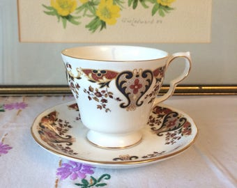 Vintage Teacup Candle, Vanilla Scented, Colclough China 'Royalle'