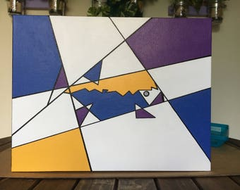 """Boxed In, 11""""x14"""" gallery wrapped canvas"""
