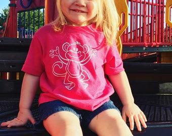 Monkey Child Tee mommy & me shirt set