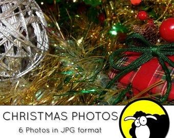 Photos - Christmas decoration - Digital download