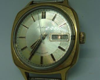 RAKETA watch, soviet watch, retro watch, men's watch, vintage watch, wristwatch ussr cal 2609.HA