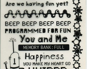 Cogsmo Quotes Rub On Transfers Cosmo Cricket Scrapbook  Embellishments Cardmaking Crafts