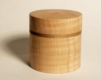 Curly maple box