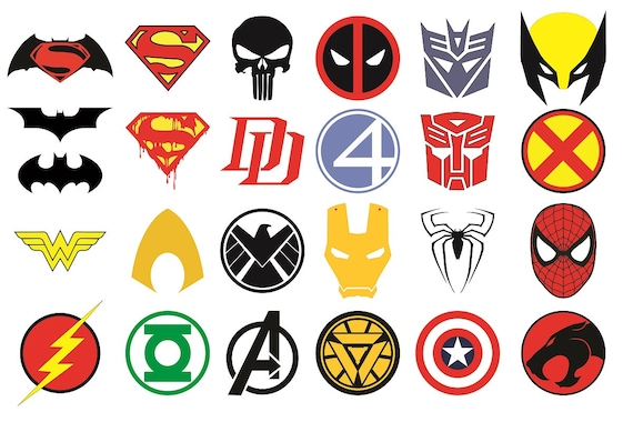 superhero logos list wwwpixsharkcom images galleries