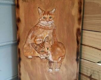 Goldsweep- Mother & Kitten