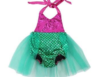 Mermaid Birthday Romper