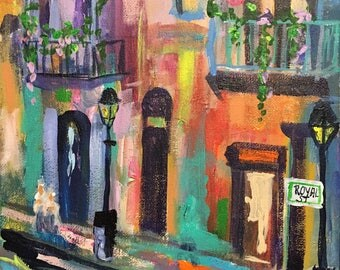 New Orleans art,Cajun art, New Orleans, French Quarter, French Quarter Art, Royal St,French Quarter Cottages, Jazz