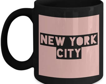 Traveler's New York City Coffee Mug - New York City - Best Gift for NYC Lovers