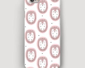 Hedgehogs Phone Case, Cute iPhone 5C Case, Pattern iPhone 4 Case, Galaxy S6 Case, Apple Case, iPhone 6 Plus Phone Case, iPhone 7 Plus Cover