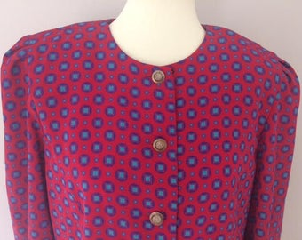 Leslie Fay Blouse Top