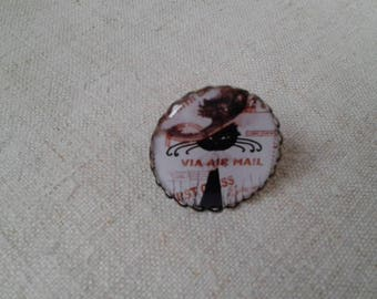 """ring """"cat stamp way"""""""