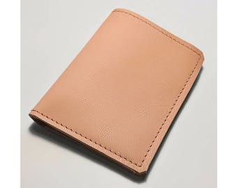 Wallet man/woman minimal in Italian leather