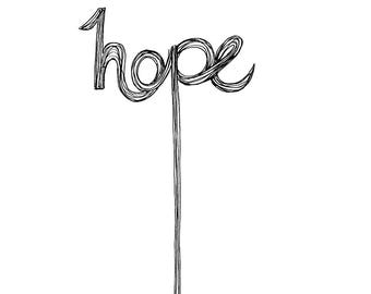 Sign of Hope Print