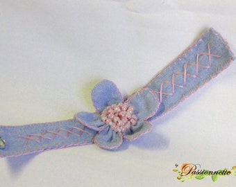 Pretty Bracelet made of fabric