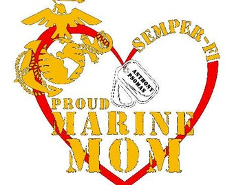 Marine Mom,Sister,Wife...