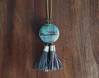Ceramic Bolo Necklace