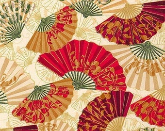 patchwork fabric oriental tradition Robert KAUFMAN 13032