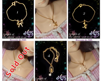 Jewelry Necklace Dollfie Dream DD MDD BJD