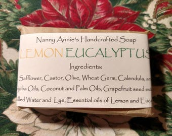 Lemon Eucalyptus Handcrafted Soap