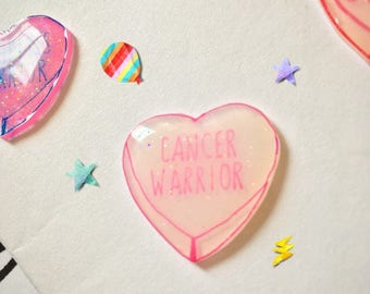 Cancer Awareness pin