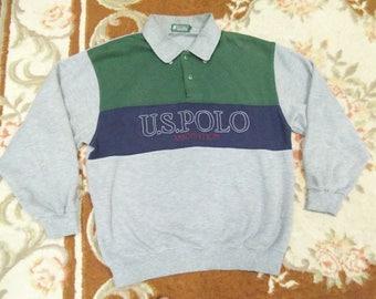 vintage POLO ASSOCIATION sweatshirt sIze LL