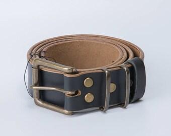 Belt, mens leather belt, leather belt, handmade belt