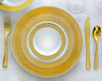 Private Listing 20 guests inspiration Gold and crystal gold with crystal Cutlery-dinner,lunch,salad