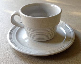 Vintage Mikasa cup and saucer, c1970s