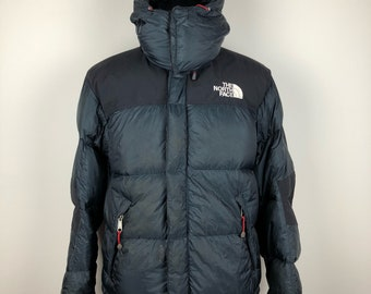 Vintage the north face puffer hoodie | S size