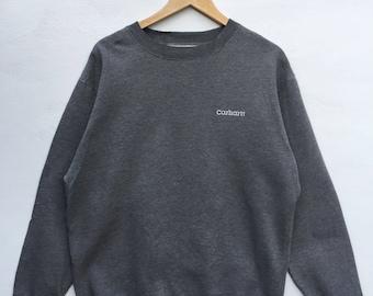 Carhartt sweatshirt spell out