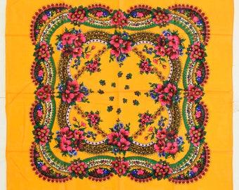Floral Scarf - Beautiful Design
