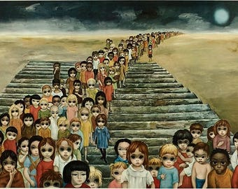 Tomorrow Forever Lithograph By Margaret Keane