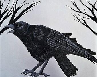 Crow 2 - print