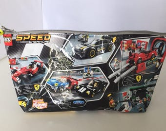 Pencil Case Upcycling-LEGO SPEED-Champions