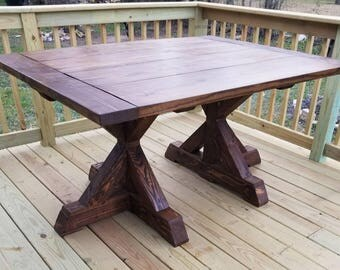 Farmhouse Table (LOCAL Pickup/DELIVERY ONLY)