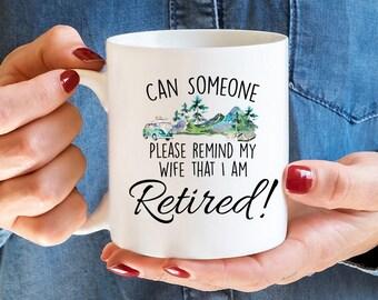 Retirement Gift, Retirement Mug, Coffee Mug, Funny Retirement, Retired, Funny Coffee Mug, Funny Mug, Retired Mug, Retirement Gifts,