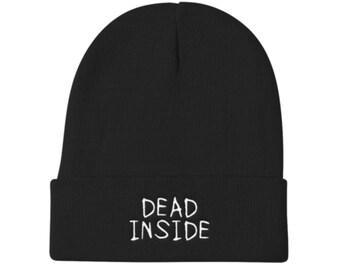 Dead Inside Beanie Hat