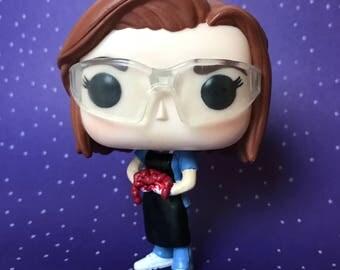 Dana Scully, MD Custom Funko Pop! Vinyl Figure & Box (The X-Files: Bad Blood)